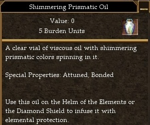 Shimmering Prismatic Oil