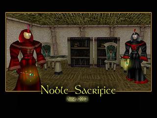 Noble Sacrifice Splash Screen