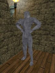 Gladiator Diemos Statue Live