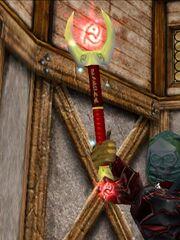 Red Rune Slashing Silveran Wand Live