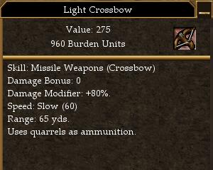 Light Crossbow (Old)