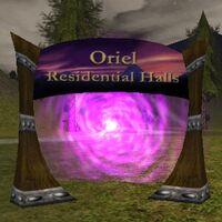 Oriel Residential Halls Live