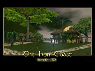 The Iron Coast Splash Screen