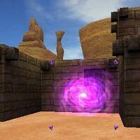 21.0S, 7.5E - Ancient Portal Live