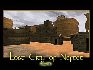 Lost City of Neftet Splash Screen