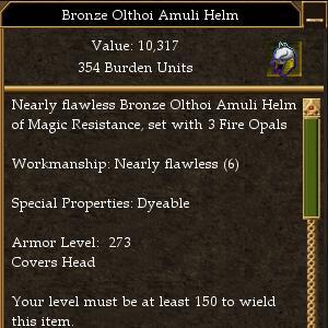 Olthoi Amuli Helm Maximum AL