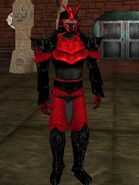 Haebrean Armor Black Dark Red Live