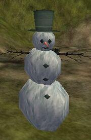 Snowman (Housing Item) Live