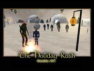 The Holiday Rush Splash Screen