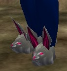 White Bunny Slippers Live