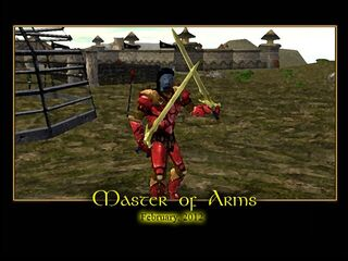 Master of Arms Splash Screen