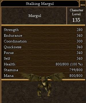 Stalking Margul
