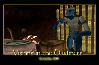 Visions in the Darkness Splash Screen