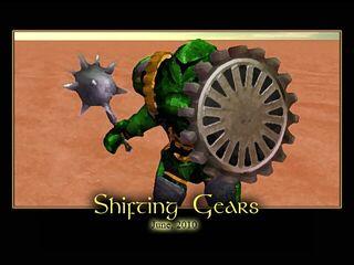 Shifting Gears Splash Screen