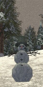 Snowman (Town Network Painting) Live