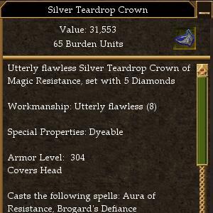 Tear Drop Crown Maximum AL