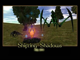 Shifting Shadows Splash Screen