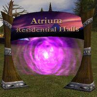 Atrium Residential Halls Live