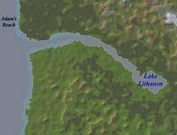Lake Lithanen Map
