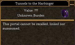 Tunnels to the Harbinger (Vincadi)