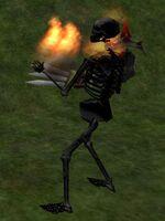 Pyre Skeleton Live