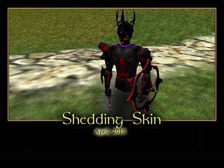 Shedding Skin Splash Screen