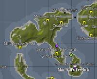 Miremdae Island Map