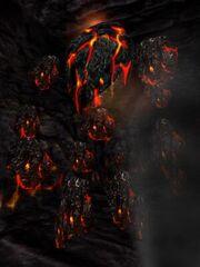 Ancient Magma Golem Live
