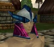 Fine Olthoi Brood Queen Helm Live
