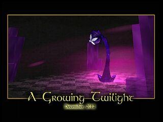 A Growing Twilight Splash Screen