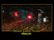 Blood From Stone Splash Screen