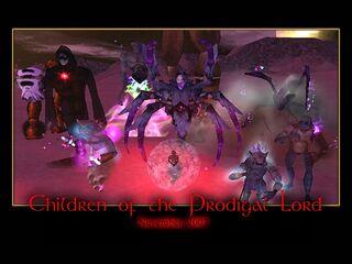 Children of the Prodigal Lord Splash Screen
