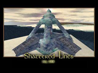 Shattered Lines Splash Screen