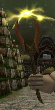 Oak Stormwood Wand Live
