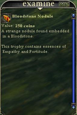 Bloodstone Nodule