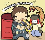 Resident Evil 5 Jill Sandwich by the lagz
