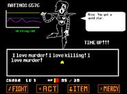 I love murder