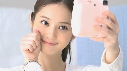 "Nozomi Sasaki , Fuji film Cheki ""Sasaki Nozomi holiday + Cheki"" commercial"