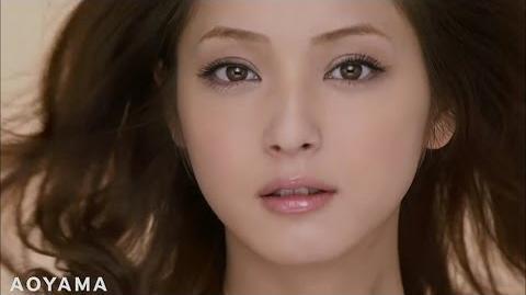 """Nozomi Sasaki , Youfukuno aoyama Aoyama """"open"""" commercial"""