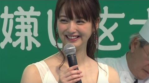 佐々木希、プロポーション維持の秘訣は「野菜」「ピエトロ」新CM公開記念イベント3 Nozomi Sasaki event