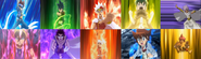 All legendary bladers
