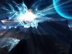 Super nova explosion