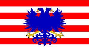 Unabhängige Stämme Assimilans Flagge