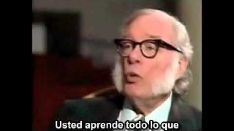 Isaac Asimov previendo el impacto de Internet