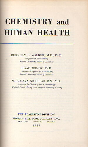 A chemistry and human health