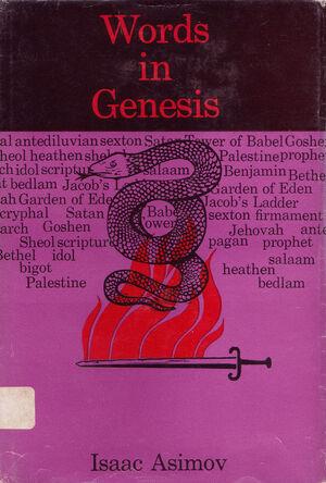 A words in genesis
