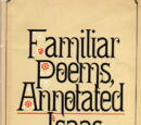 Familiar Poems Annotated