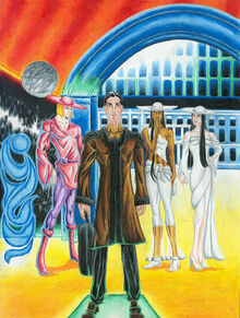 Hari Seldon on Trantor by Asimov Club deviantart