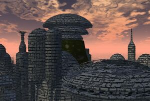 Ruins of trantor by megaduce