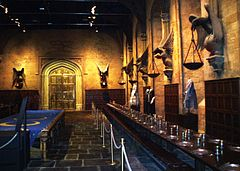 The Great Hall, Hogwarts